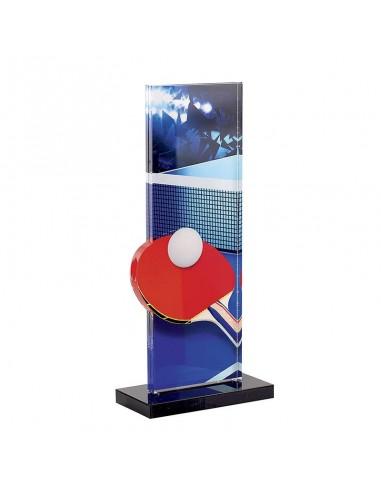 Trophée Tennis de table 22cm