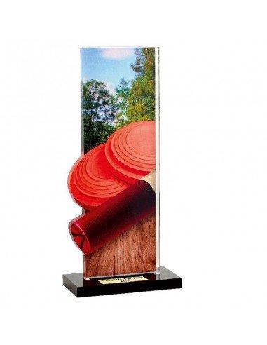 Trophée Ball-trap 22cm