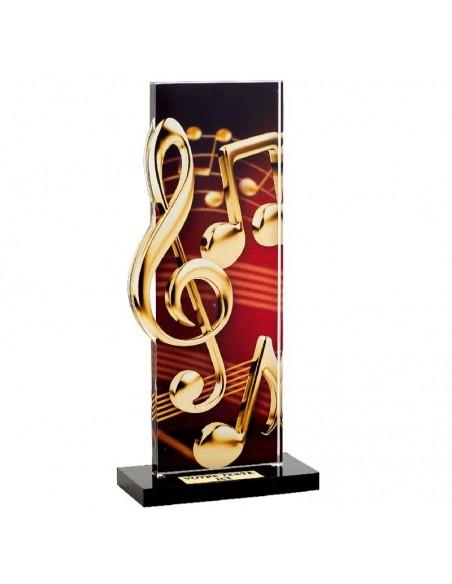 Trophée Musique 22cm