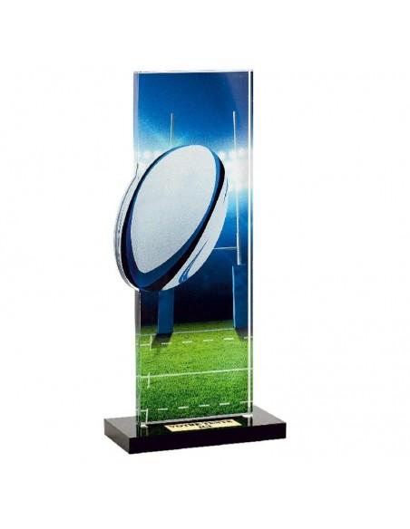Trophée Rugby 22cm