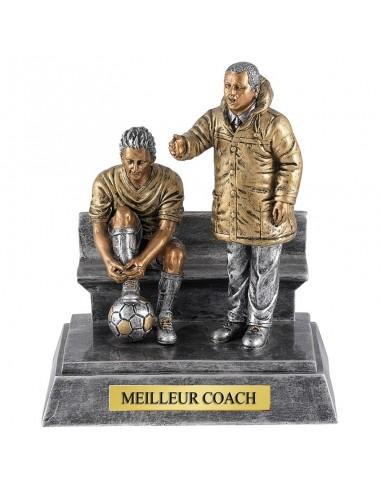 Trophée résine Coach 17X21 cm