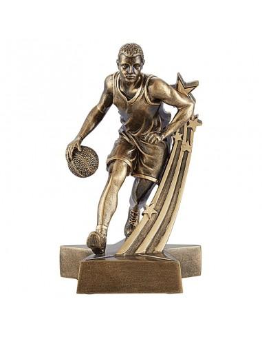 Trophée résine Joueur de Basket hauteur 20 cm