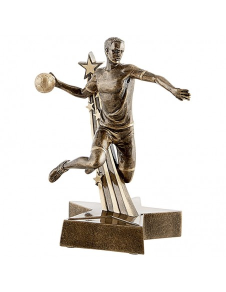 Trophée résine Handball Homme 21 cm