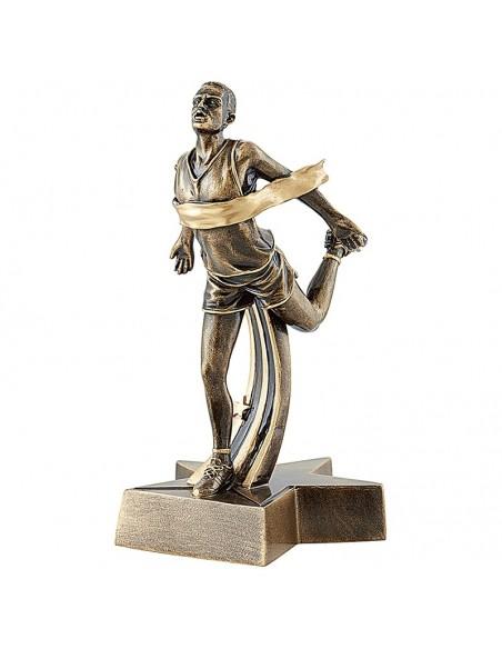 Trophée résine Course Homme hauteur 22 cm
