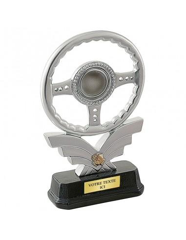 Trophée résine Volant hauteur 21 cm