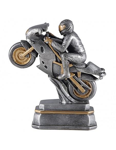 Trophée résine Moto hauteur20 cm