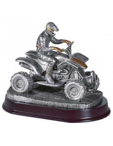 Trophée résine Quad 13X9X11 cm
