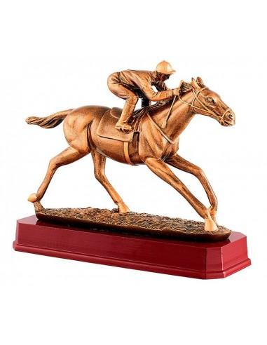 Trophée résine équitation hauteur 25 x 21cm