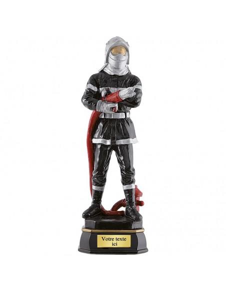 Trophée résine Pompier hauteur 45 cm
