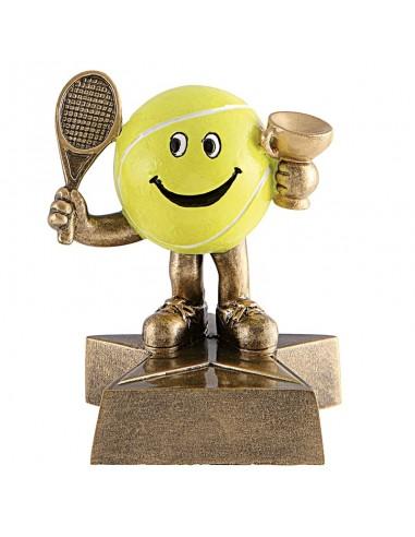 Trophée résine Tennis hauteur 10 cm