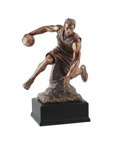 Trophée résine Luxe Basket hauteur 35 cm