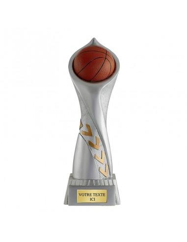 Trophée résine trophée basket hauteur 36cm