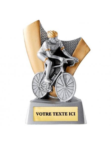 Trophée en résine Cyclisme hauteur 10 cm