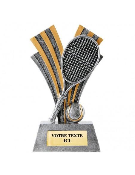 Trophée en résine Tennis hauteur 22 cm