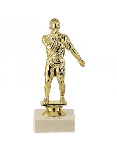 Trophée sujet plastique or arbitre hauteur 16cm