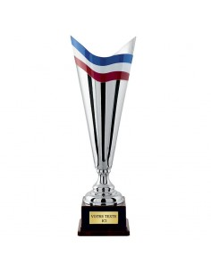 COUPE ARGENT 100% METAL (4301A)