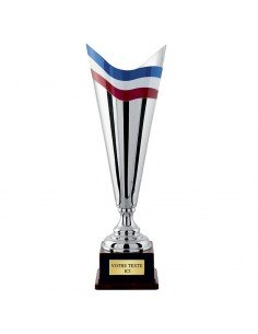 COUPE ARGENT 100% METAL (4301C)