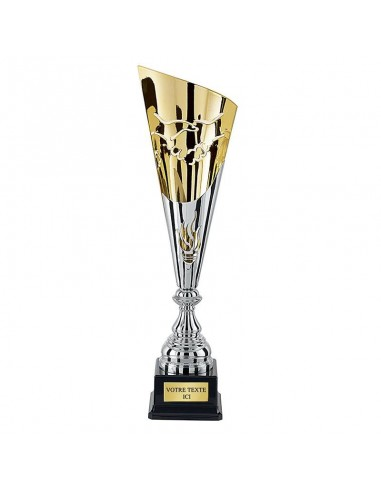 Coupe 47cm Argent / Or fair-play