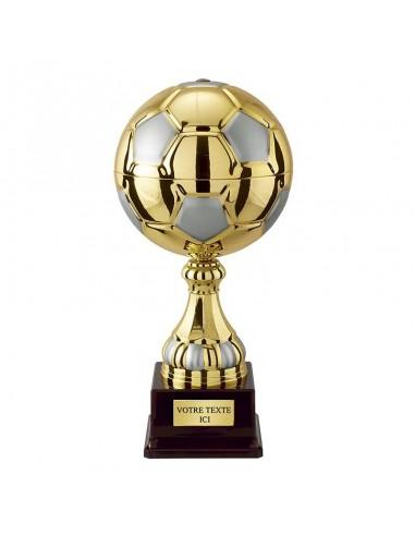 Trophée ballon de foot 38cm - Ø180mm