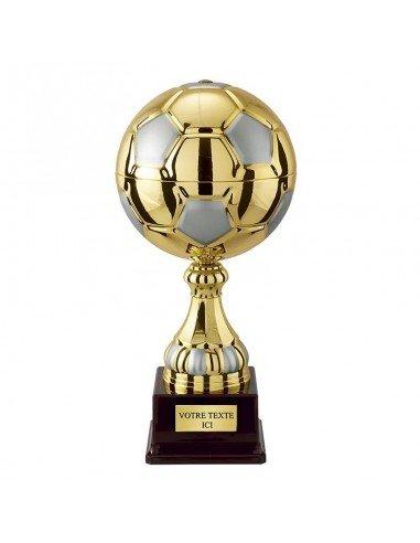 Trophée ballon de foot 25cm - Ø120mm