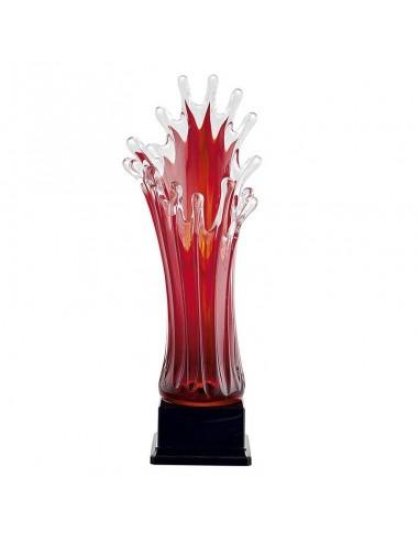 Vase en verre hauteur 22cm