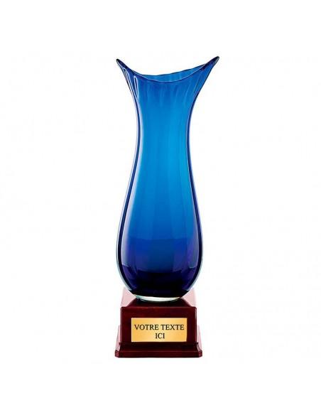 Vase en verre hauteur 33cm