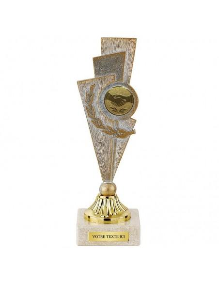 Trophée métal hauteur 19cm