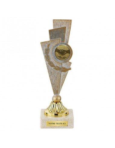 Trophée métal hauteur 17cm