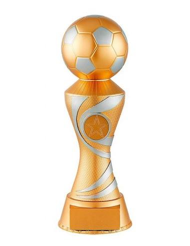 Trophée résine trophée ballon hauteur 17.5cm