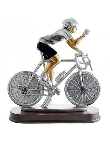 Trophée résine Cyclisme hauteur 21X24 cm