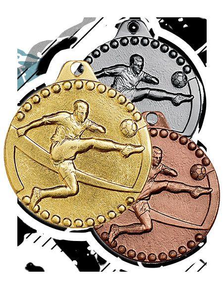 médailles estampées