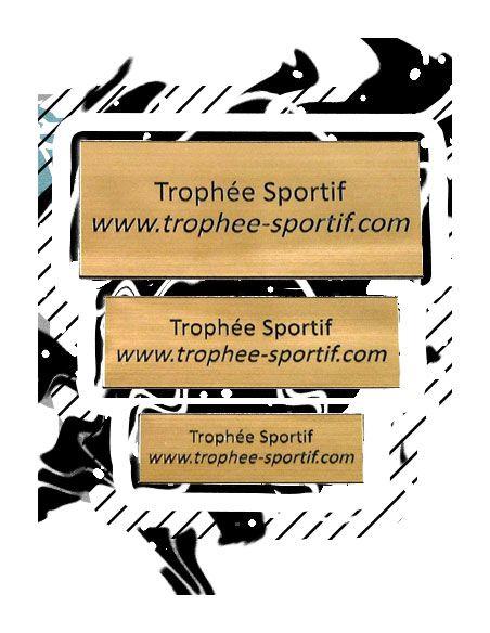 gravures plaques trophées