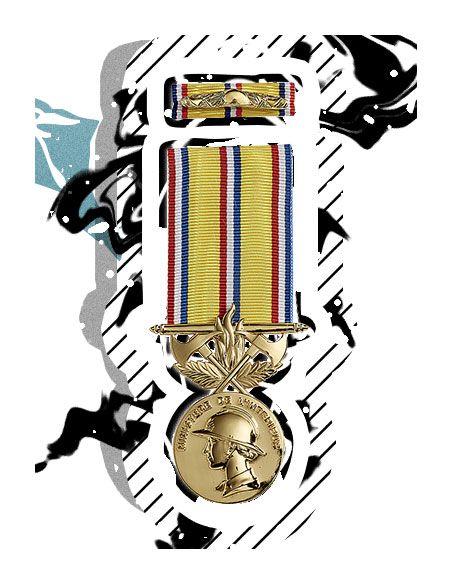 médaille pompier